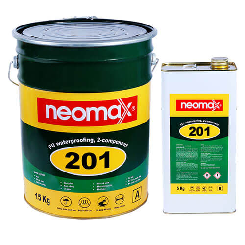 sản phẩm chống thấm sân thượng neomax 201