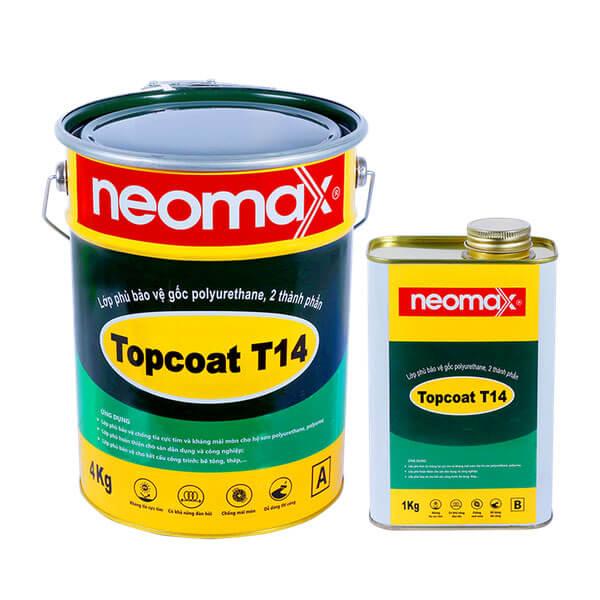sản phẩm chống thấm sân thượng, sàn mái neomax topcoat T14
