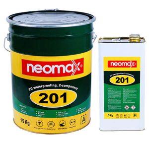 Neomax 201là hợp chất chống thấm hai thành phần, gốc polyurethane