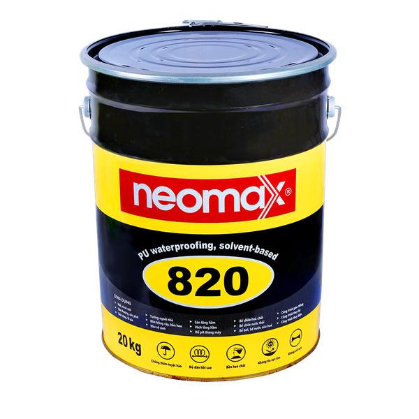 sản phẩm chống thấm sân thượng neomax 820