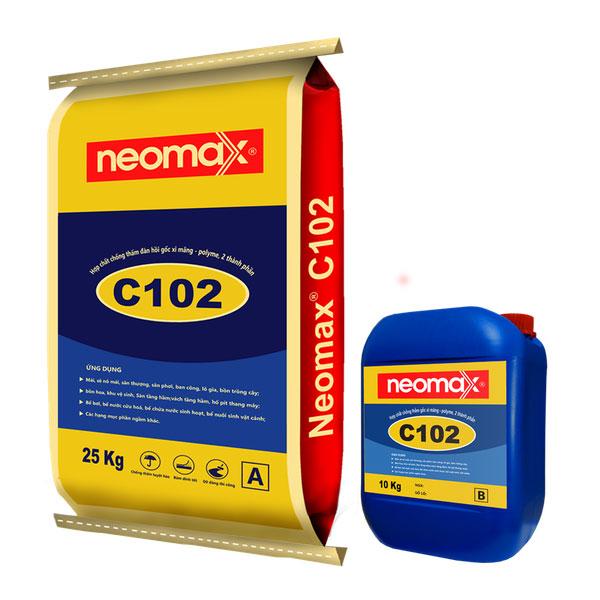 sản phẩm chống thấm cổ ống , sàn vệ sinh neomax C102
