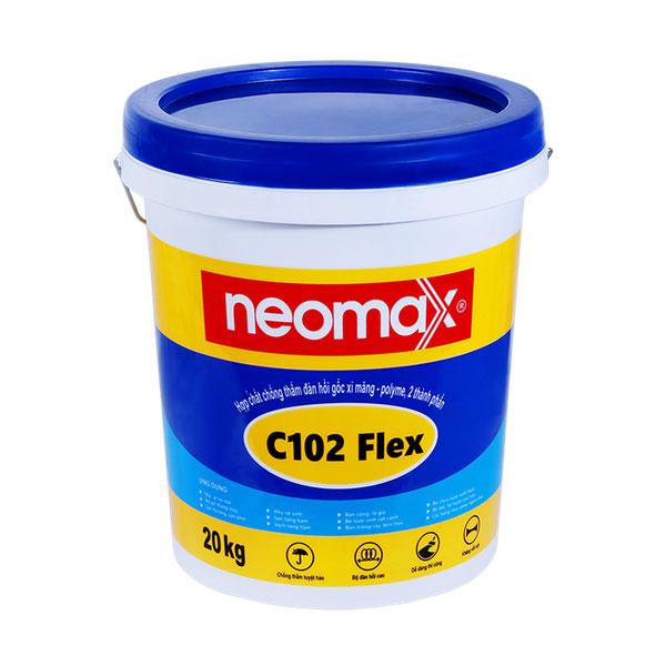 sản phẩm chống thấm vách tầng hầm neomax C102 flex
