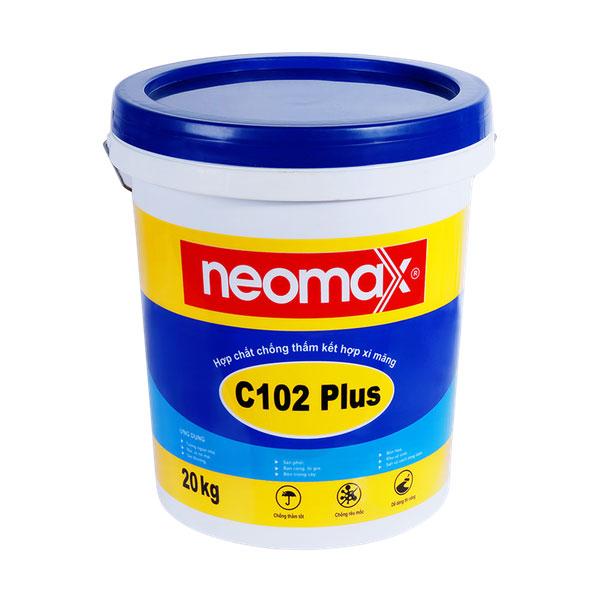 Neomax C102 Plus là hợp chất tổng hợp từpolymemột thành phần, kết hợp với xi măng tạo thành hỗn hợp dạng lỏng