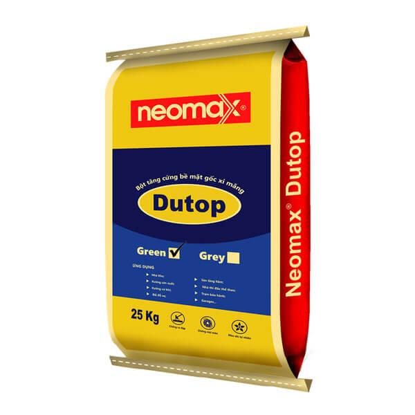 Bột tăng cứng bề mặt gốc xi măng Neomax Dutop green