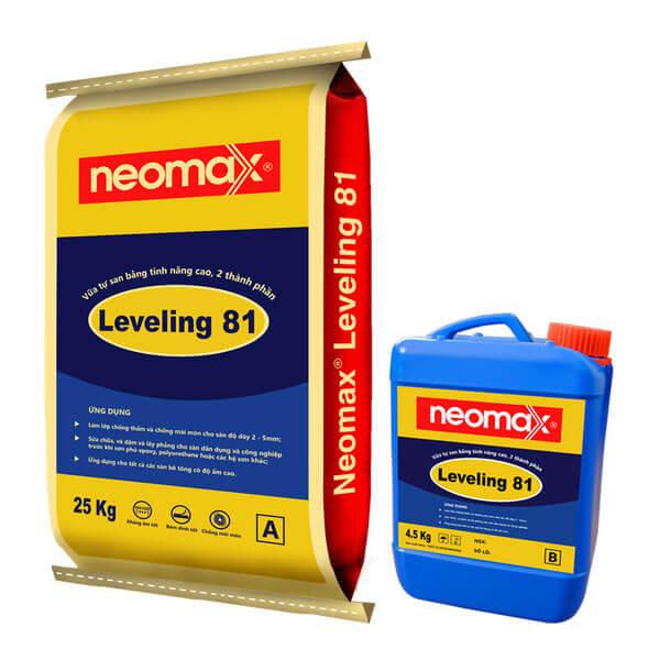 vữa tự san bằng 2 thành phần leveling 81