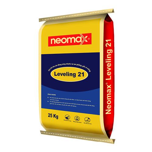 Neomax Leveling 21 là sản phẩm vữa trộn sẵn, một thành phần, gốc xi măng, đông cứng nhanh.