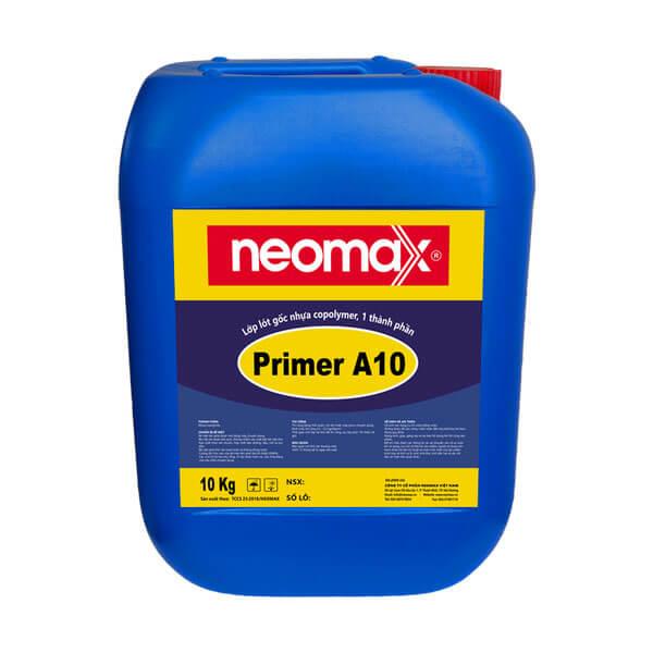 Lớp lót neomax Primer A10 giúp bề mặt bám dính tốt hơn