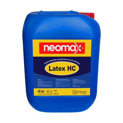 Neomax Latex HC là phụ gia chống thấm và tác nhân kết nối được thiết kế dành riêng cho vữa và bê tông nhằm nâng cao khả năng chống thấm, chống nứt, chống ăn mòn và tăng cường khả năng kết dính.