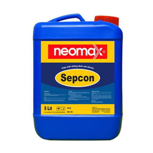 Neomax Sepcon là hợp chất chống dính ván khuôn