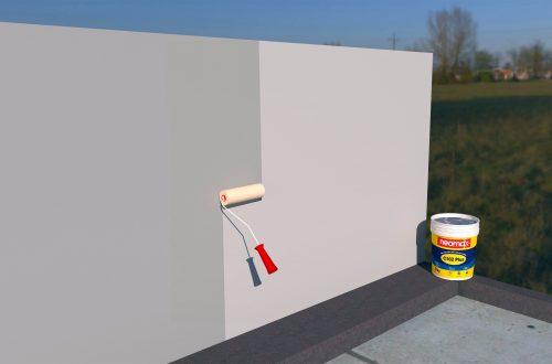 Quy trình thi công chống thấm tường ngoài, ban công, seno, nhà vệ sinh bằng neomax c102 plus