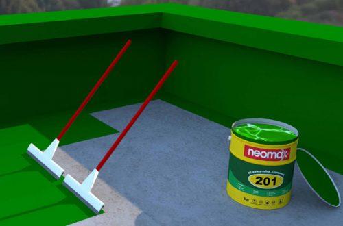 Quy trình thi công chống thấm sàn, mái bằng vật liệu gốc polyurethane neomax 201