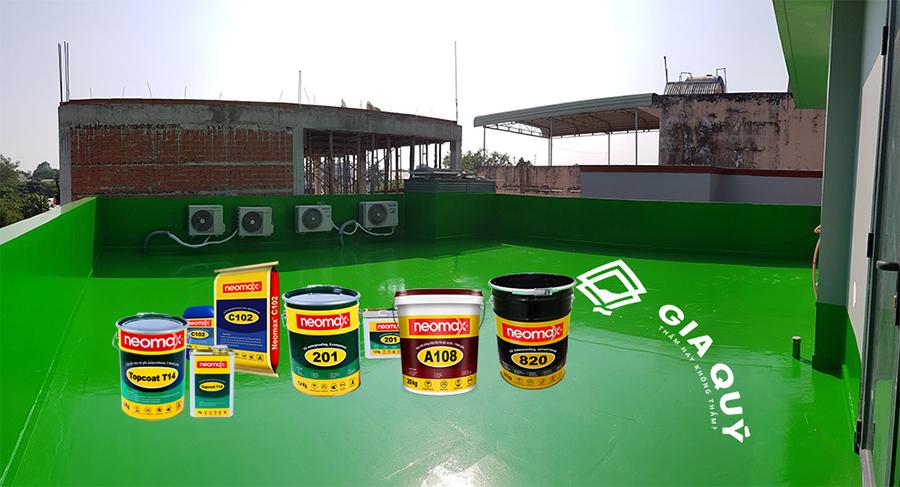 Các loại sơn chống thấm chất lượng nhất hiện nay