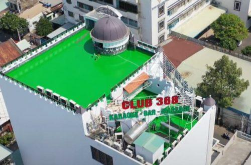 Dự Án Chống Thấm Sân Thượng CLUB 368