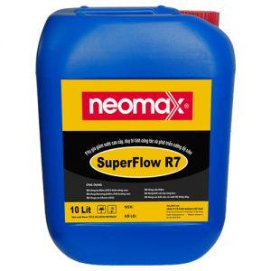 Phụ gia Superflow R7 thích hợp với tất cả loại vữa, xi măng