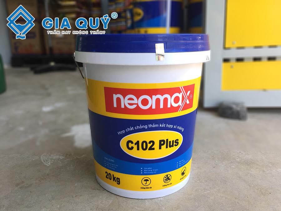 Vật liêu chống thấm tường nhà mới xây neomax C102 Plus