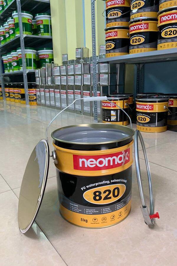 Review sơn chống thấm gốc dầu Neomax 820