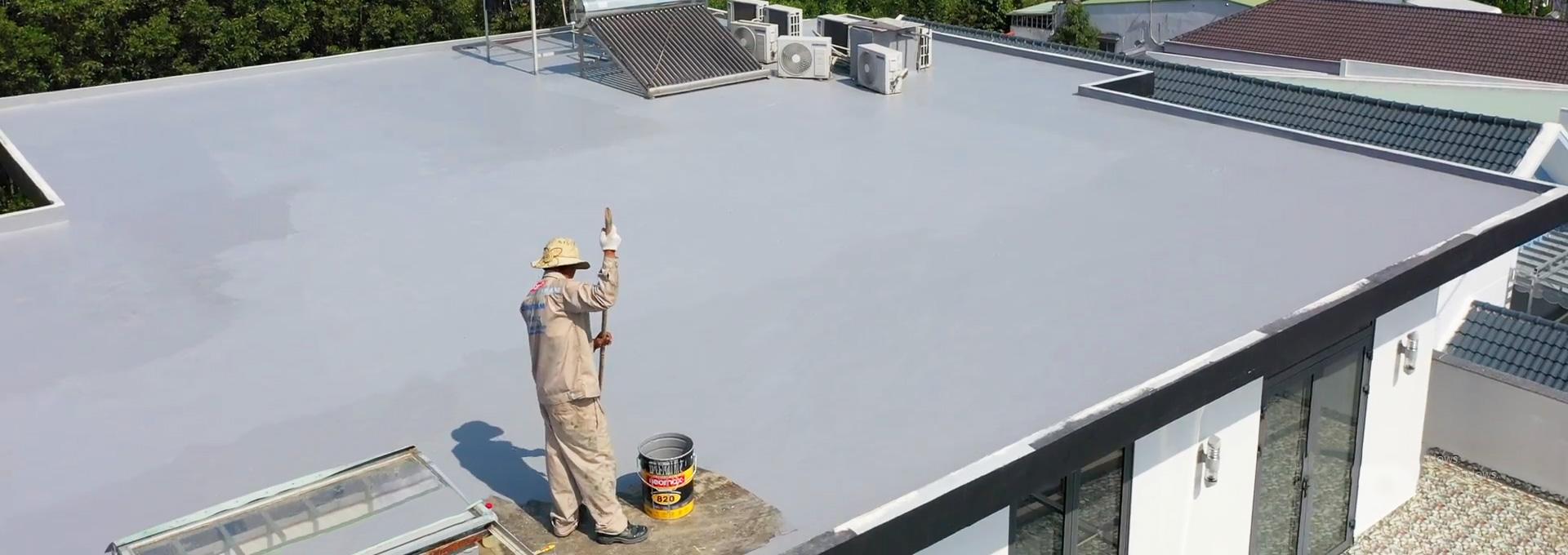 Sản phẩm chống thấm sàn mái với neomax 820