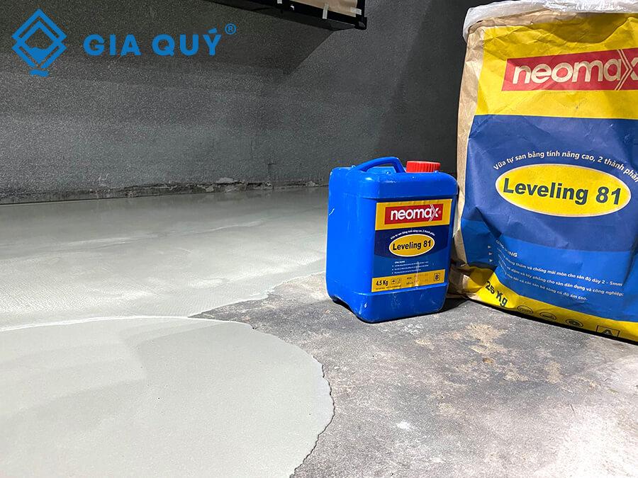 Neomax Leveling 81 - Vữa tự san phẳng cho sàn HOT nhất 2021