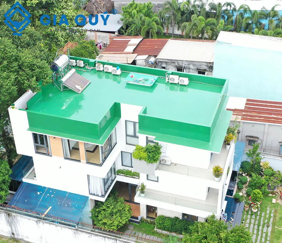 Hạng mục chống thấm sàn mái với Neomax 201