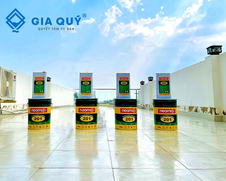 Bộ chống thấm chất lượng neomax 201
