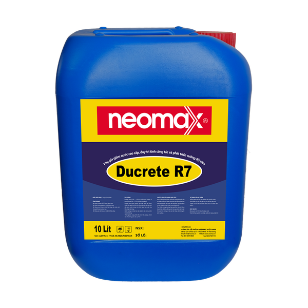 Phụ gia siêu dẻo cao cấp neomax ducrete R7 giá rẻ
